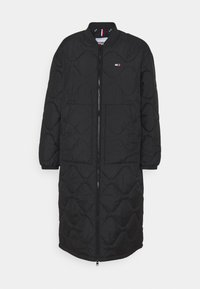 Tommy Jeans - QUILTED COAT - Winter coat - black - 0