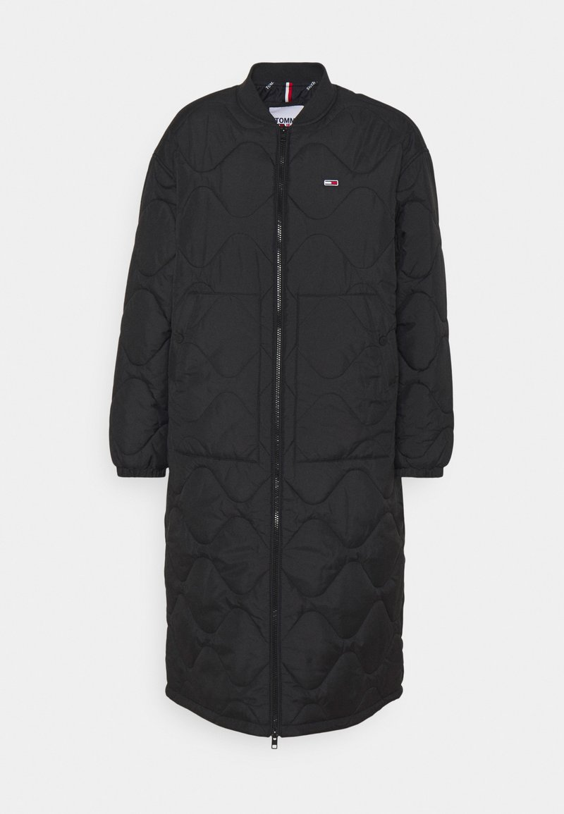 Tommy Jeans - QUILTED COAT - Winter coat - black