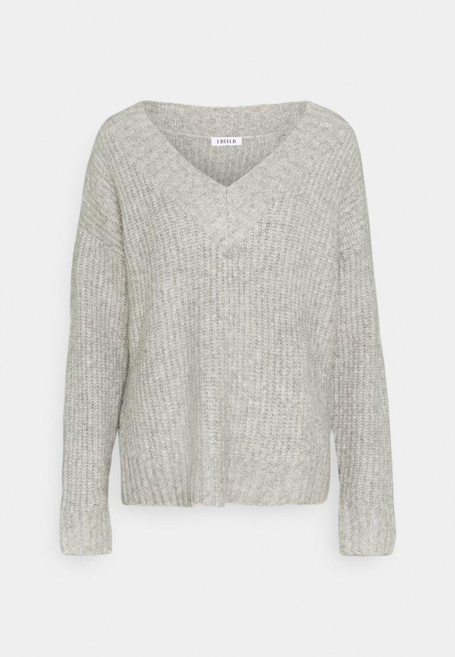CLAIRE JUMPER - Pullover - grau