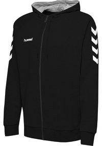 Hummel - HMLGO - Zip-up hoodie - black - 2