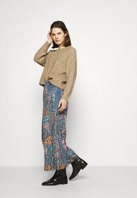 Desigual - Maxi skirt - blue - 1