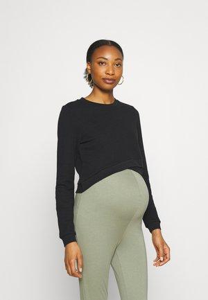 CROP - Sweater - black