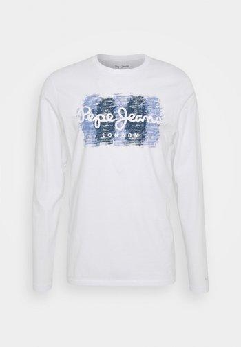 SEBASTIAN - Långärmad tröja - white