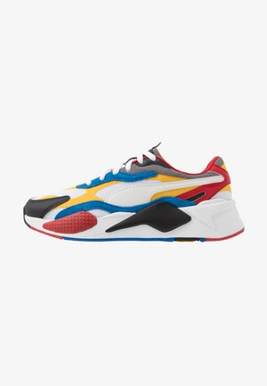 RS-X UNISEX - Matalavartiset tennarit - white/spectra yellow/black