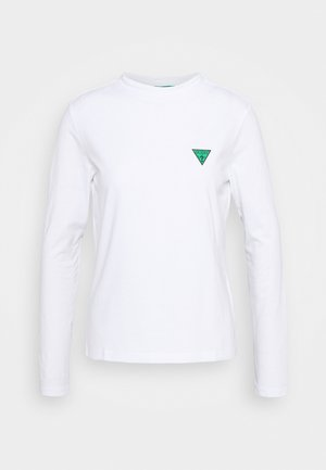 ELIZA TEE - Long sleeved top - true white