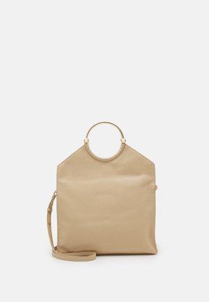 ANOUCKRING LARGE - Shopping Bag - beige