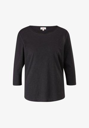 LOCKERES 3/4-ARM - Long sleeved top - black