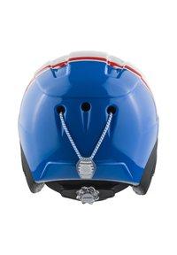 Alpina - Helmet - white-red-blue - 1