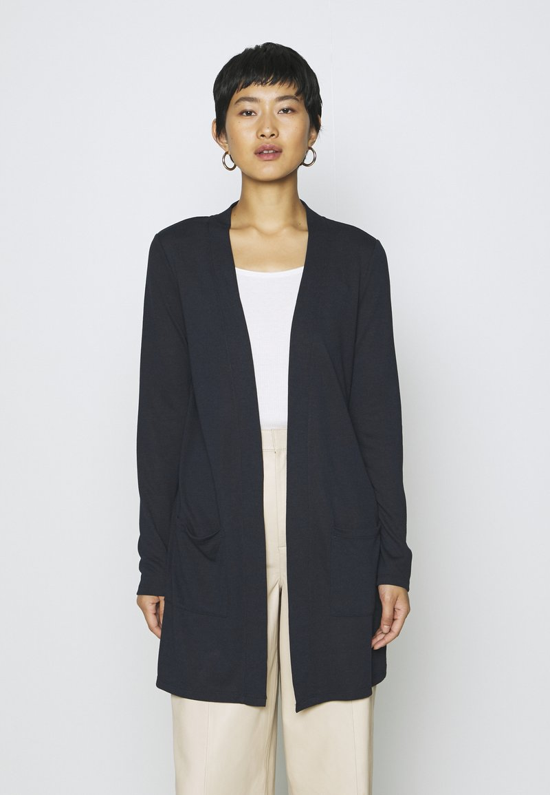 TOM TAILOR - CARDIGAN LONG - Cardigan - sky captain blue