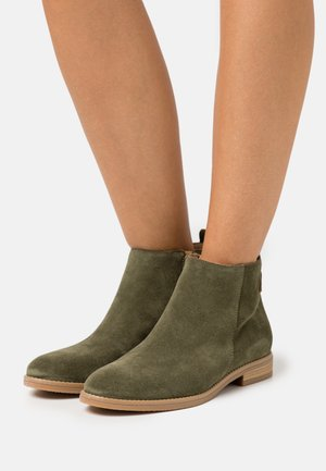 LEATHER - Ankelboots - green