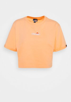 NANCIE - Print T-shirt - light orange