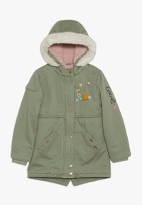 mothercare - PADDED WITH TRIMS - Parka - khaki - 0