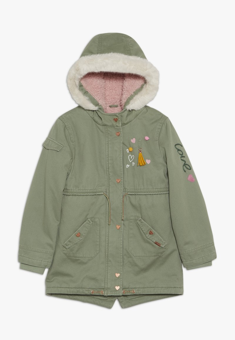 mothercare - PADDED WITH TRIMS - Parka - khaki
