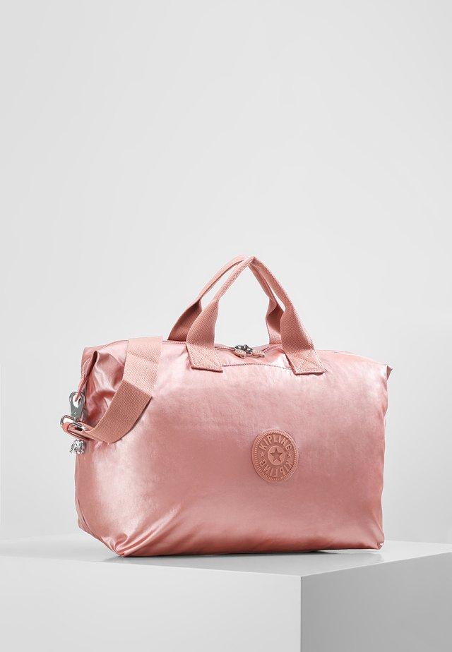 KALA M - Tote bag - metallic rust