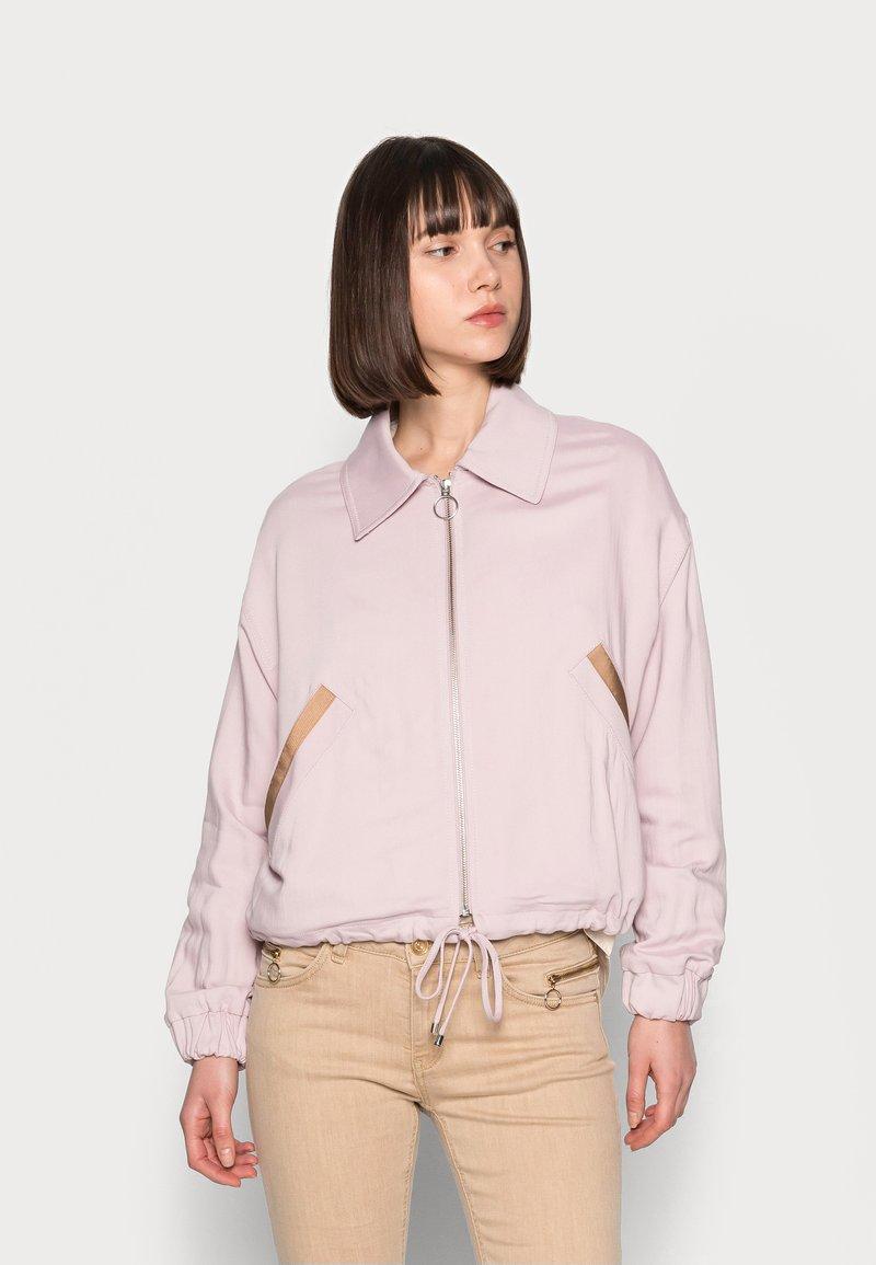 Mos Mosh - DARCY RONO JACKET - Bomber Jacket - burnished lilac