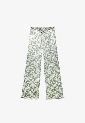 Kalhoty - green