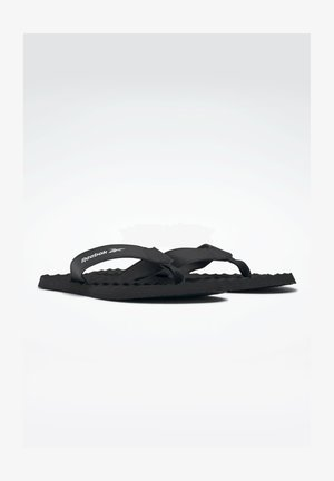 MISCES UNI SWIM SLIDES - T-bar sandals - black