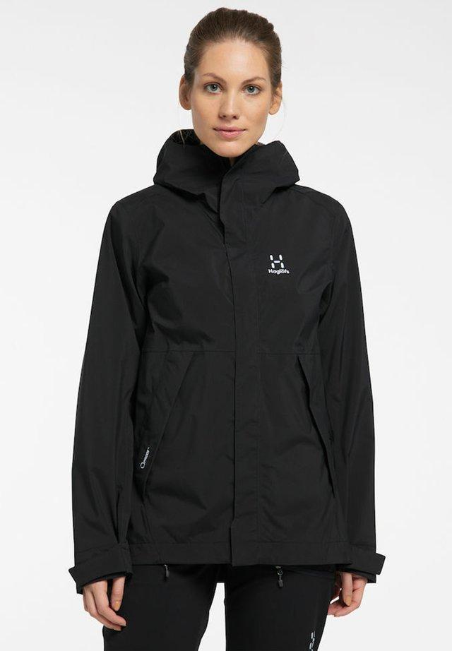 TJÄRN - Hardshell jacket - true black