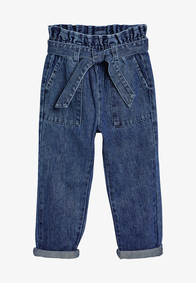 PAPERBAG  - Jeans a sigaretta - blue