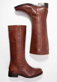 Apple of Eden - KAREN - Vysoká obuv - brown - 3