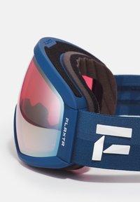 Flaxta - CONTINUOUS UNISEX - Laskettelulasit - dark blue/dust blue - 4