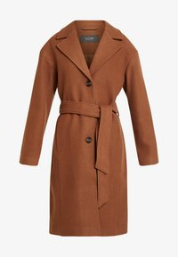 KIOMI - Classic coat - dark brown/camel - 4