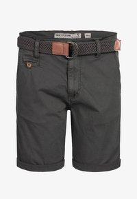INDICODE JEANS - Shorts - raven - 5