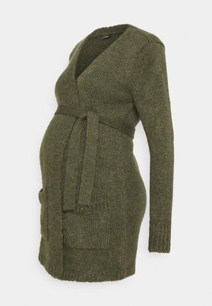 Strickjacke - ivy green