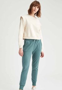DeFacto - Tracksuit bottoms - green - 1