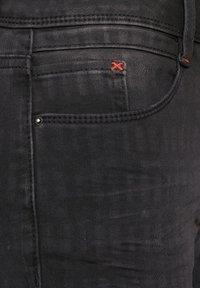 Cecil - MIT FADED KAROMUSTER - Slim fit jeans - grau - 4