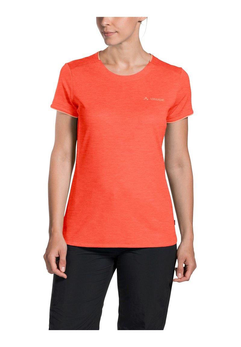 Vaude - ESSENTIAL  - Basic T-shirt - pink canary