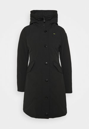 IMPERMEABILE TRENCH LUNGHI IMBOT PIUMA - Down coat - black