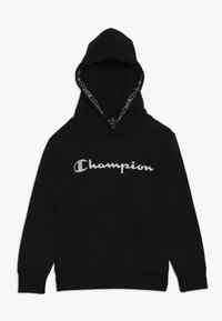 Champion - AMERICAN CLASSICS HOODED  - Hoodie - black - 0