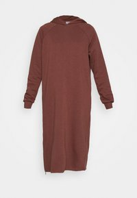 NMHELENE DRESS - Day dress - hot chocolate