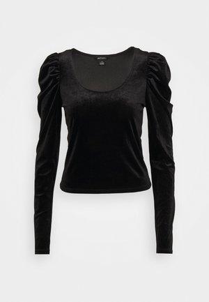 OLISA - Long sleeved top - black