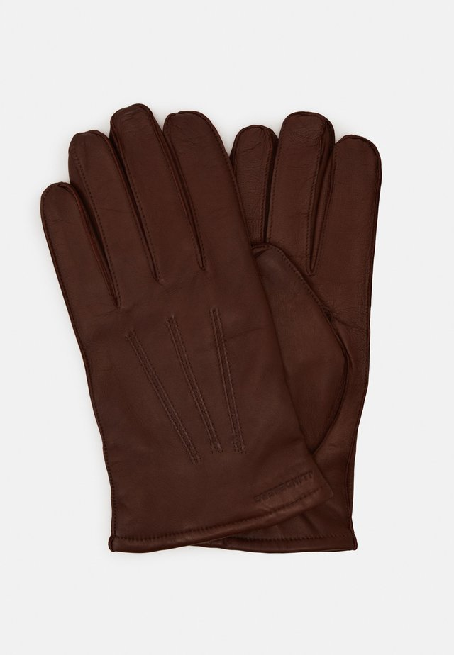 MILO GLOVE - Guanti - dark brown