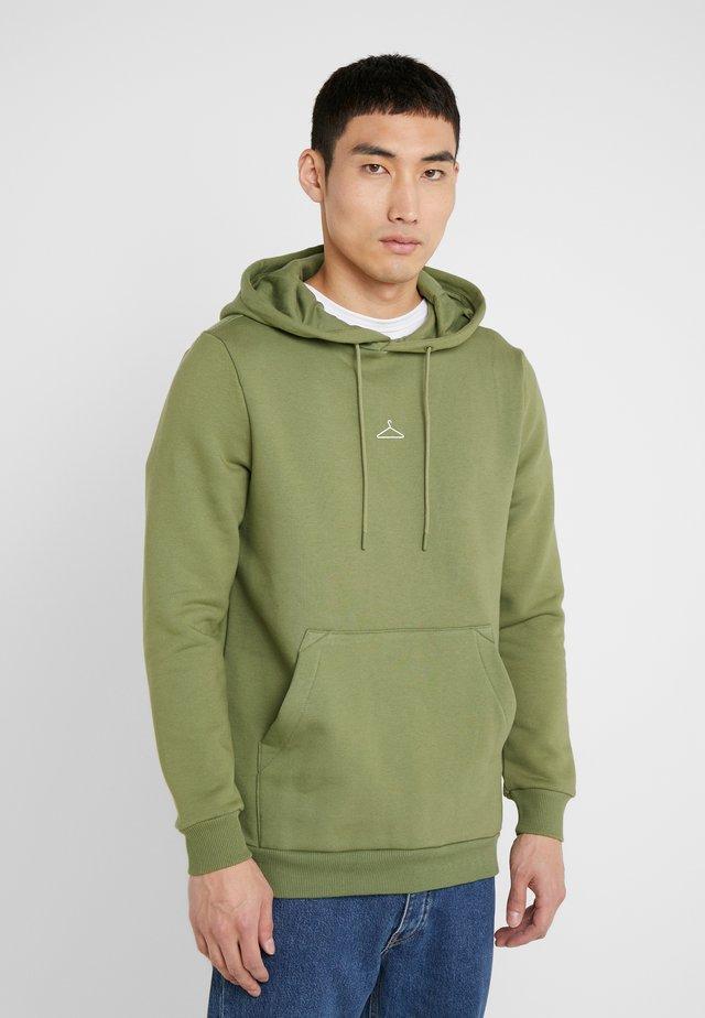HANGER HOODIE - Felpa con cappuccio - green