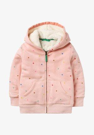 Light jacket - altrosa/bunt, getupft
