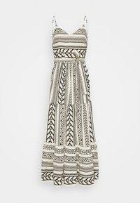 Vero Moda - VMDICTHE SINGLET ANCLE DRESS - Maxi dress - birch/dicthe/black - 4