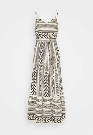 VMDICTHE SINGLET ANCLE DRESS - Maxi šaty - birch/dicthe/black