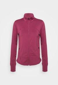 RUSH - Zip-up sweatshirt - pink quartz