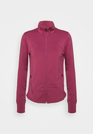 RUSH - veste en sweat zippée - pink quartz