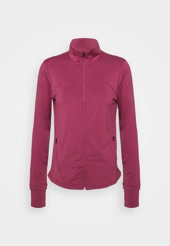 RUSH - Zip-up hoodie - pink quartz