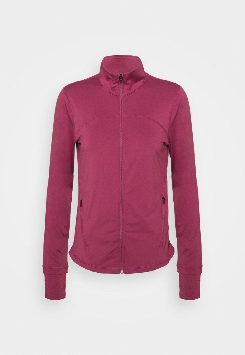 Under Armour - RUSH - Zip-up hoodie - pink quartz