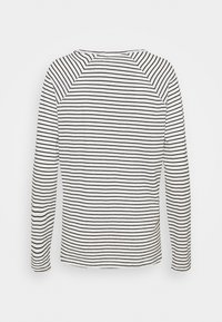 Selected Femme - SLFBELIVE TEE - Long sleeved top - black/snow white - 1