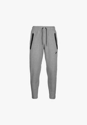 Tracksuit bottoms - dark grey heather / black
