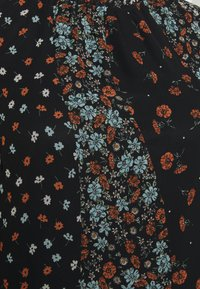 Simply Be - HIGH NECK SHEER SLEEVE SMOCK DRESS - Denní šaty - black - 2