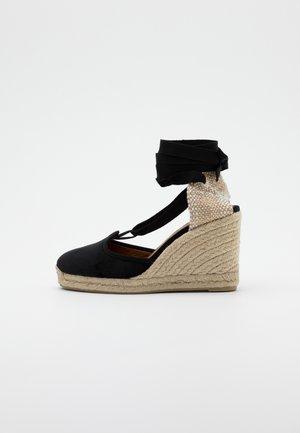 CATRI  - Sandály na vysokém podpatku - black