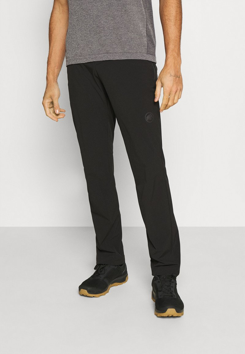 Mammut - RUNBOLD LIGHT PANTS MEN - Trousers - black