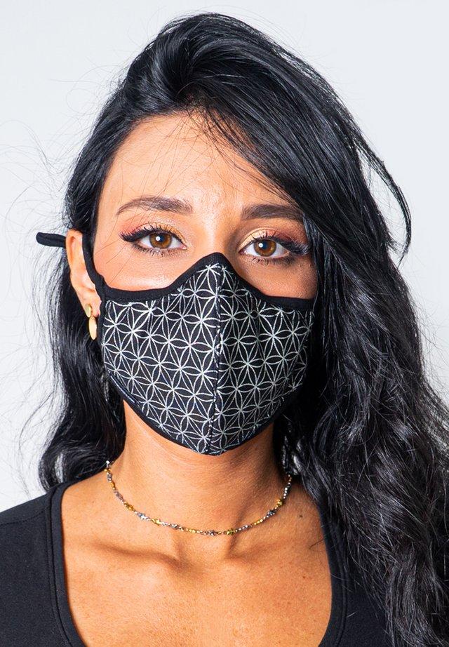 Maschera in tessuto - silver